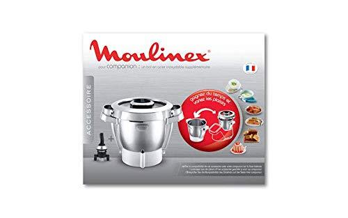 Moulinex - Ciotola completa Companion per pezzi preparati culinari, piccolo elettrodomestico
