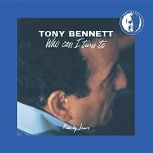 tony bennett who can i turn to