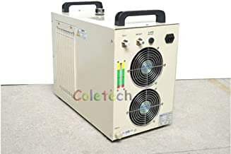 Industrial Water Cooling Chiller with Refrigerant for CO2 Laser Tube Engraver Cutting Cutter CW5000 110V