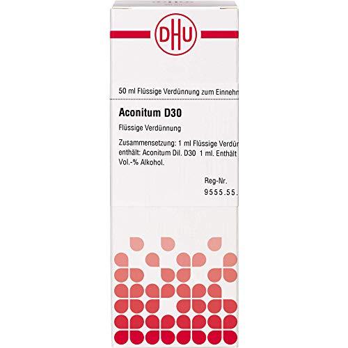 DHU Aconitum D30 Dilution, 50 ml Lösung