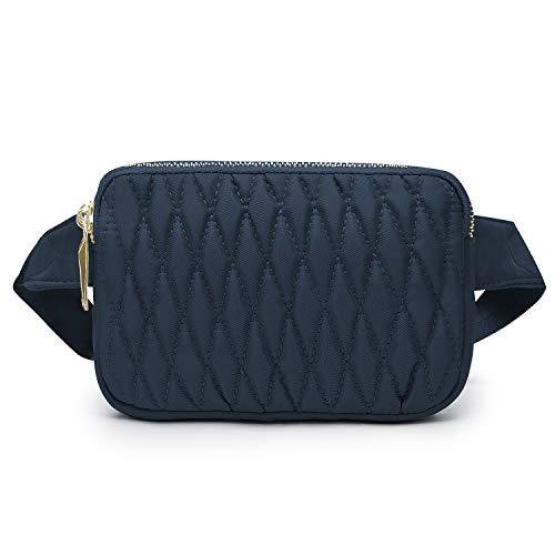 Wind Took Mode Damen Brusttasche Gürteltasche Bauchtasche Hüfttasche Handytasche für Reise Alltag Outdoor Party Mini,18 x 4 x 12 cm