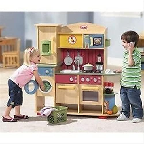 genuina alta calidad Little Tikes Cookin' Cookin' Cookin' Creations Premium Wood Kitchen by Little Tikes  hasta un 65% de descuento