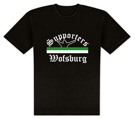 World of Football T-Shirt Supporters-Wolfsburg - XXL