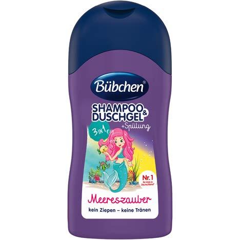 Bübchen Shampoo & Duschgel Meereszauber 6x 50ml