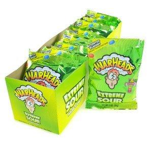 Warheads Extreme saure Bonbons Box enthält 12 Packungen (12x28g)