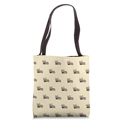 French Bulldog Pattern Cute Frenchie Dog Lover Owner Tote Bag