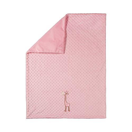 BORNINO HOME La couverture douce GIRAFE couverture douce couverture bébé, rose
