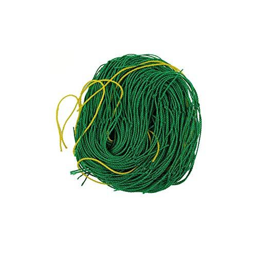 YUEMING 1.8 * 3.6m Ranknetz Kletterpflanzen Gartennetz Netz, Rankhilfen Gemüsepflanzen Netz mit Großer Maschenweite, Gurkengitter Gartennetz für Garten und Gewächshaus