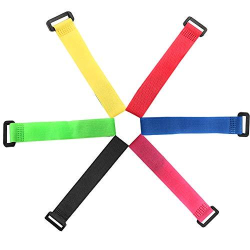FULARR 30Pcs 20cm Prima Colorido Ataduras de Cable, Cable Co