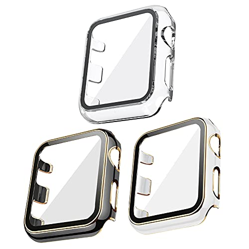 Kdely [3 Pack] Funda para Apple Watch 42mm Series 3/2/1, Cover con...