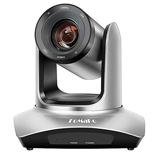 FoMaKo 20X Zoom USB HDMI PTZ Camera Full HD 1080P Conference Camera Church Live Streaming Webcam FMK20UH