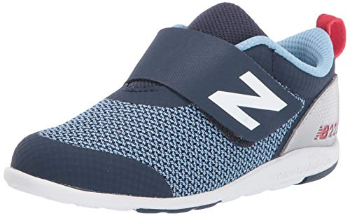 New Balance Kid's 223 V1 Hook and Loop Sneaker, Navy, 4 XW US Toddler
