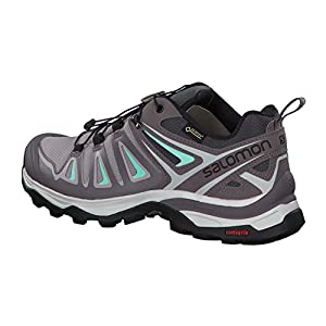 Salomon Women's X Ultra 3 GTX Trail Running Shoe, magnet, 9.5 M US
