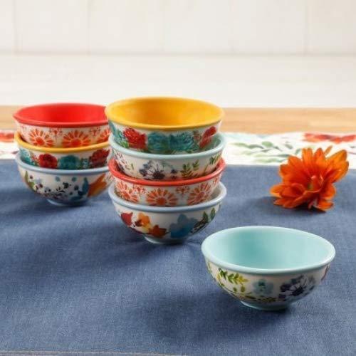 The Pioneer Woman Flea Market 3.12-Inch Dip Bowls, Set of 8