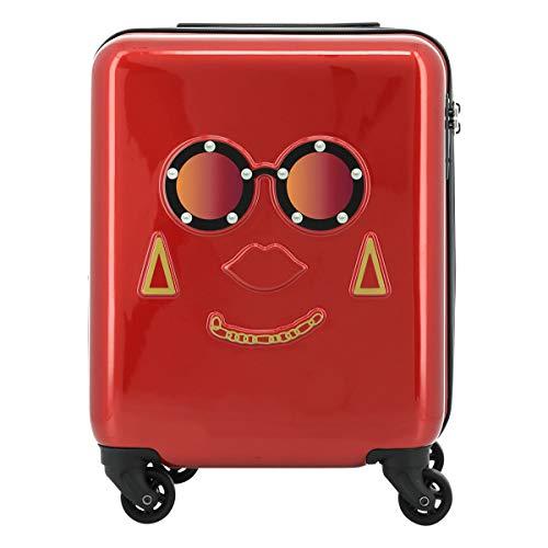 [スパイラルガール] スーツケース 機内持ち込み LCC対応 20(24)L 45.5cm 2.6kg フェイスキャリー レディース レッド