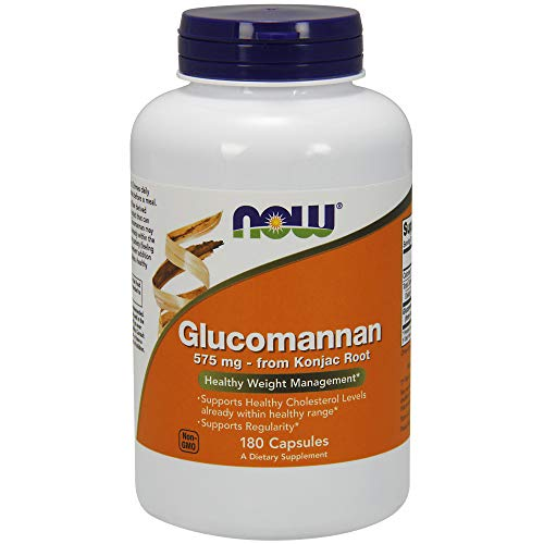 Now Foods Glucomannan de Konjac Root, 575mg 180 Unidades 200 g