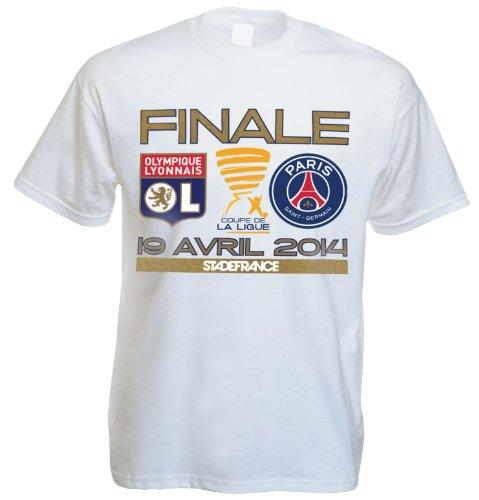 Camiseta oficial del Olympique Lyonnais / Paris Saint Germain, final de la...