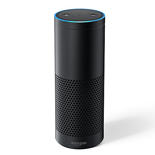 Amazon Echo Plus – With built-in smart home hub, Black – International Version, UK power adaptor