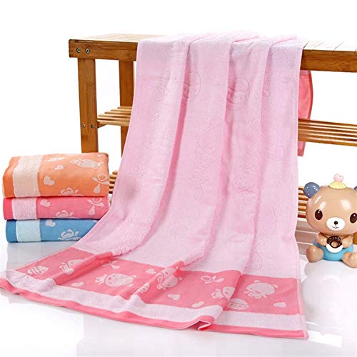GCSQF Toallas Baño Toallas De Mano Toallas de baño Baño El Uso de Toallas for Adultos 100% de Fibra de bambú Beach Gruesa Toalla de baño 140X70cm 0116 (Color : B)