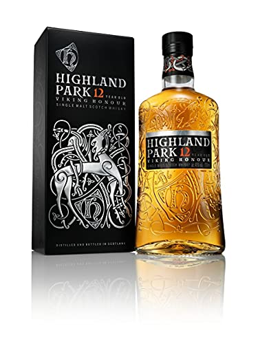 Highland Park 12 Years Old VIKING HONOUR Single Malt Scotch Whisky 40% - 700 ml in Giftbox