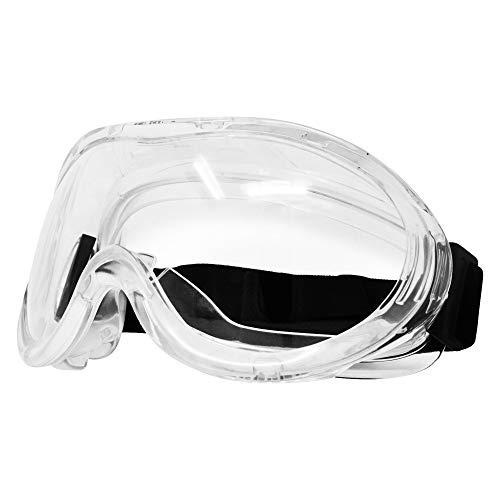 Viwanda Schutzbrille über Brille mit weitem Sichtfeld Antibeschlag Augenschutz mit klarer Sicht Kratzfest und UV-beständige Labor Schutzbrile