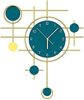 GJHK Personnalité Creative Light Light Luxe Horloges Mode Salon Mur Horloges Moderne Minimaliste Accueil Décoration Horlog...