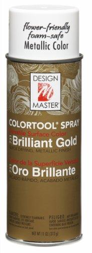 Design Master 731 Garden, Gold Metallic, 11 ounces