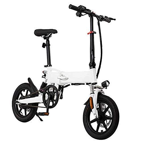 ZXL Scooter Eléctrico, Asistencia Eléctrica para Bicicleta Eléctrica con Frenos de Disco Dobles Velocidad Máxima Plegable 25 Km/H Distancia Máxima de Carrera de 50 Km para Adultos: 50 Km,50Km,50Km