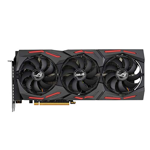 Asus ROG Strix Radeon RX 5700 XT OC Edition 8 GB GDDR6, Ventole AxialTech, 0 dB, dual BIOS, Tecnologia Auto-Extreme, Super Alloy Power II, MaxContact, Backplate in Metallo