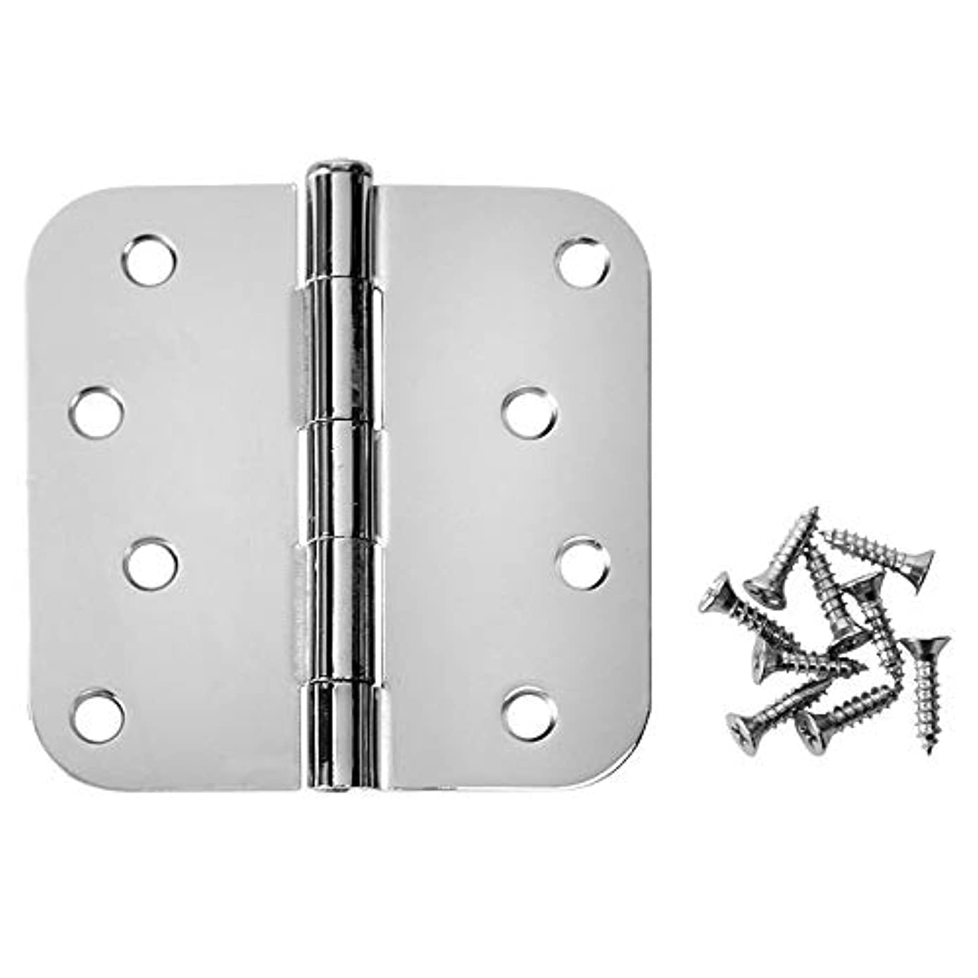 Cosmas Polished Chrome Door Hinge 4