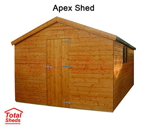 Total Sheds 12ft (3.6m) x 10ft (3.0m) Shed Apex Shed Garden Shed Timber Shed