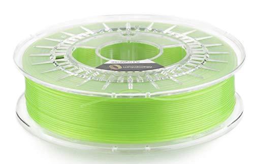 Fillamentum PLA Extrafill Crystal Clear Kiwi Green - 1.75mm - 750g Premium Filament