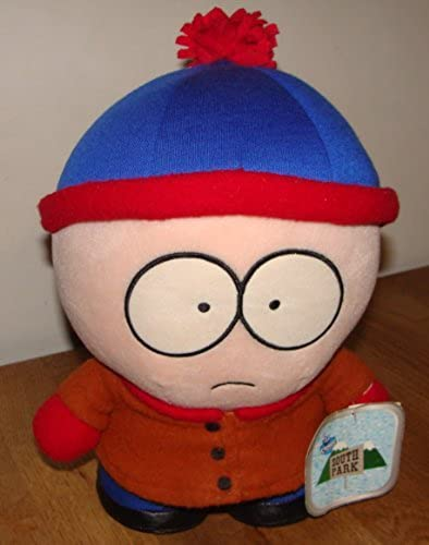 1998 South Park STAN 10 tall plush Figure by Comedy Central