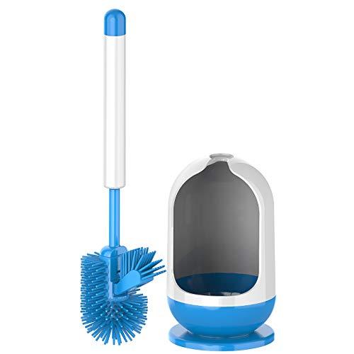 MR.SIGA Soft Bristle Toilet Brush with Holder
