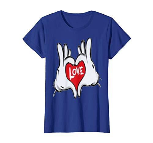 Damen Love T-shert T-Shirt