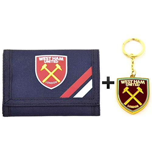 West Ham United officiële Crest geld portemonnee & sleutelhanger Gift Set