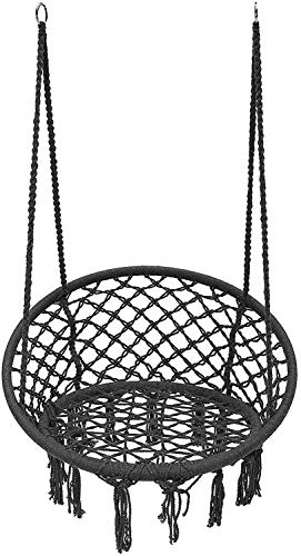 OH Hanging Chair for Outdoor Hammock Mesh for Camping, Single Swing, Maximum Load Cushion 120 Kg for Garden Easy to Carry