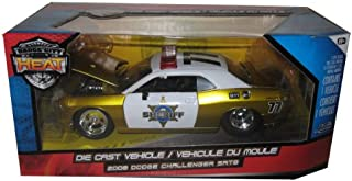 2008 Dodge Challenger SRT8 Sheriff Police 1/24 Diecast Model Car