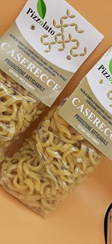 Caserecce Pasta Hartweizen Gourmet Nudeln Pasta Siciliana Feierlichkeiten Handarbeit Sizilien