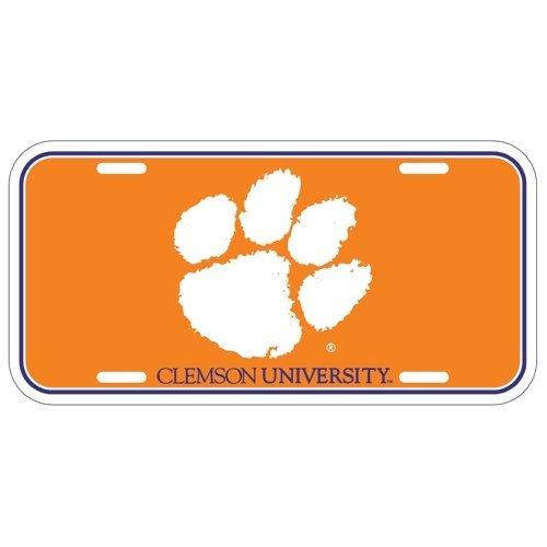 NCAA Clemson University License Plate