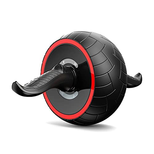 HSYSA Accueil Automatique Automatique Rebound AB Roller Fitness Fitness Abdominal Equipment Equipment Exercice Abdominal Muscles et Facile à Transporter (Color : Black)