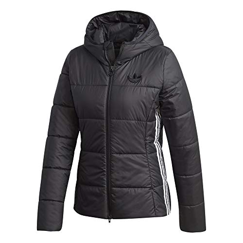 adidas Slim Women Jacket Winterjacke (42, Black)