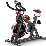 YHRJ Bicicletas estáticas para pérdida de Peso de Entrenamiento,Bici de Spinning silenciosa en la Oficina,Equipo de Gimnasia de Ejercicio Ajustable,Puede soportar 150 kg