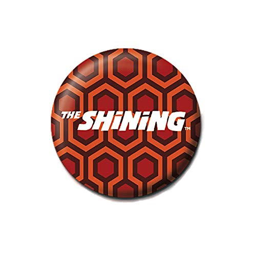 Original The Shining gemusterter Teppich Logo Button Badge Badge Badge Badge