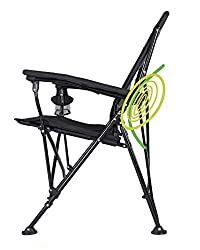 Strongback Elite Folding Chair with Lumbar Support