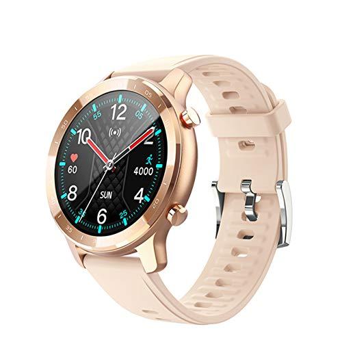 QLK S30 Smart Watch Hombres Y Mujeres IP67 Impermeable Fitness Bluetooth Smartwatch Frecuencia Cardíaca Monitor de Presión Arterial para Ios Android, A