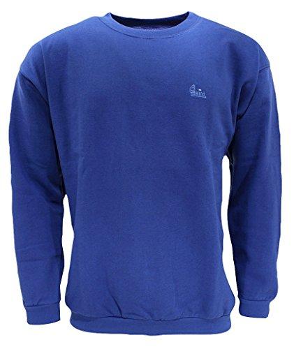 wind sportswear Herren Sweatshirt Größe 4XL Blau (blau)