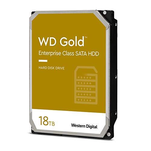 """Western Digital Gold 18 TB 3.5"""" 7200RPM Internal Hard Drive"""