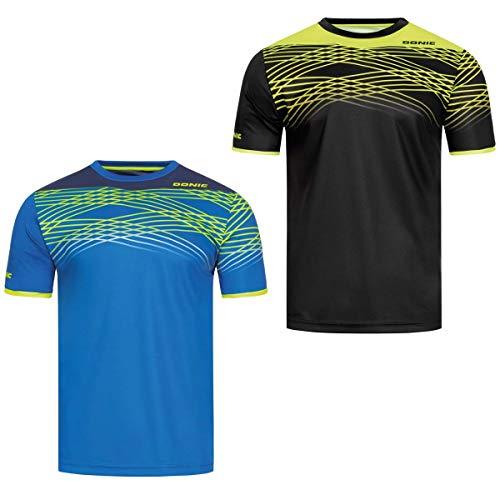 DONIC T-Shirt Clix, XXXL, schwarz/Neongelb