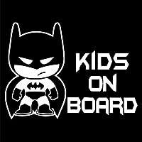 車のステッカー ボード上の18.6 * 13.6CM PVCの漫画の子供の車の車のステッカー車のステッカーで子供たち BJRHFN (Color : Black)